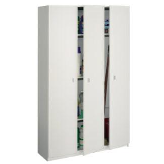 Imagen de Armario Auxiliar 3 Puertas Modelo 8005 blanco