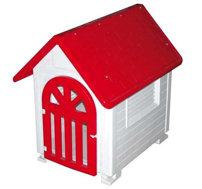 Caseta de plastico c puerta for Caseta pvc exterior