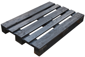 Imagen de Palet para Muebles 80 x 120 Eur 1ª Negro Ref.PWBlack80120