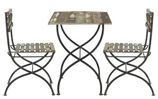 Imagen de Set de Diseño Garden en Acero 60 x 60 x 76 centímetros